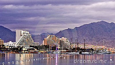 Eilat at the morning