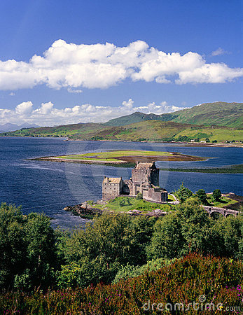 Eilean Donan castle, Kintail, Scotland