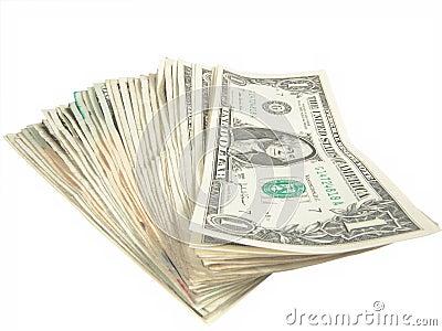 Ein Dollarscheine