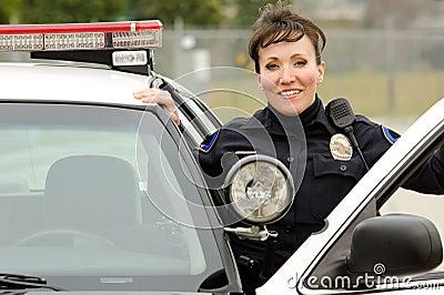 Lächelnder Offizier