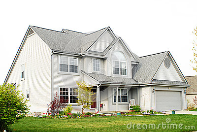 Zweigeschossiges Haus