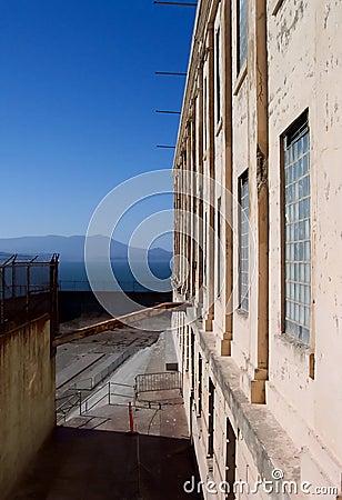 Ein schönes Tag-Alcatraz Gefängnis