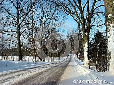 Ein Winter-Laufwerk