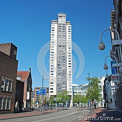 Eindhoven centre-High Regent building-Witte Dame