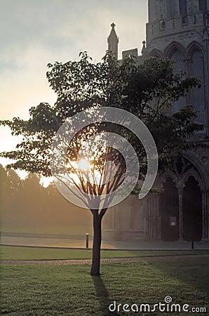 In einem Kathedrale-Abschluss