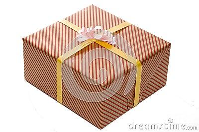 Eingewickeltes Geschenk