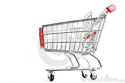 Einkaufen-Laufkatze