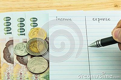 Einkommen u. Ausgabe