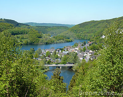 Einruhr in the Eifel - Germany