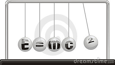 Einstein theory of relativity - newton`s pendulum