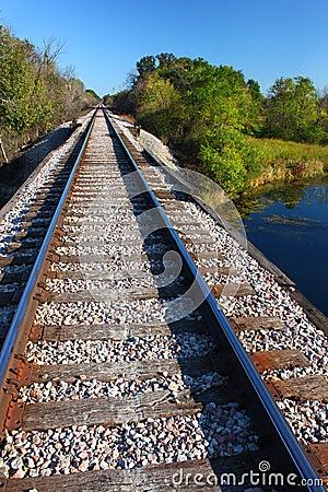 Eisenbahn-Spuren - Illinois