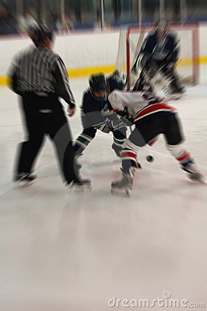 Eishockey stellen weg Tätigkeitsunschärfe gegenüber