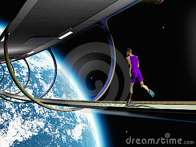 Ejecútese en espacio
