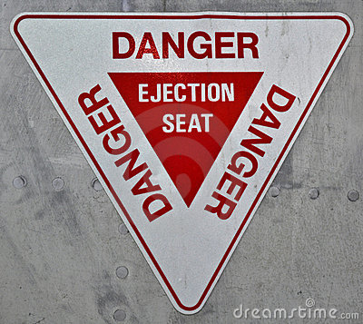 Ejection Seat Sign