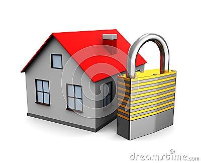 Casa con la cerradura