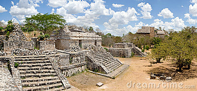 Ek Balam - ancient Maya city.