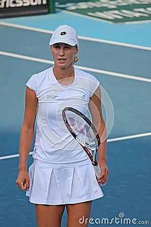 Ekaterina Makarova (RUS), tennis player Editorial Stock Photo