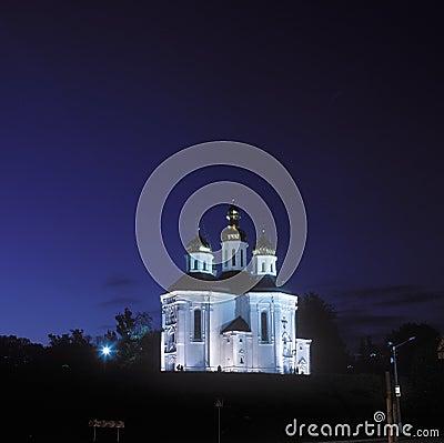 Ekaterina s church in Chernigov, Ukraine