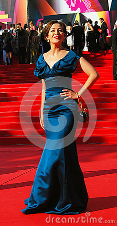Ekaterina Volkova at Moscow Film Festival Editorial Stock Photo
