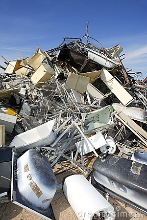 Ekologicznego środowiska fabryczny metal przetwarza świstek