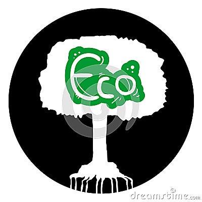 Ekologiczny drzewo
