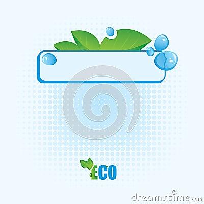 Ekologiczny sztandar