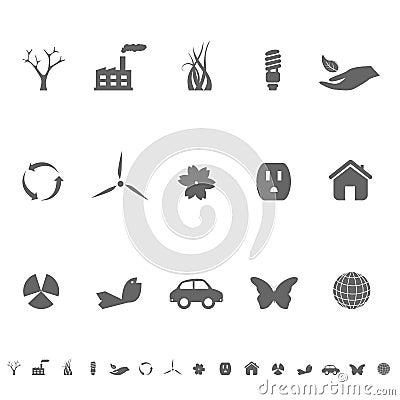 Ekologii środowiska symbole