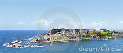 El堡垒morro波多里哥