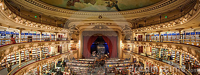 El Ateneo Bookstore Editorial Photo