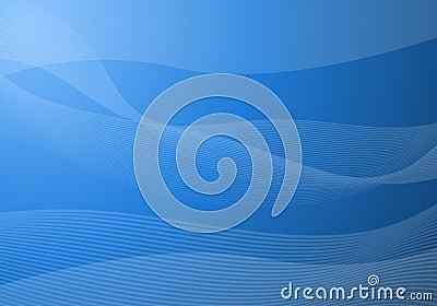 El azul agita el fondo