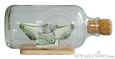 El barco hizo dólares del ââof