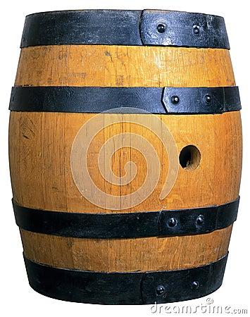 El barril de cerveza