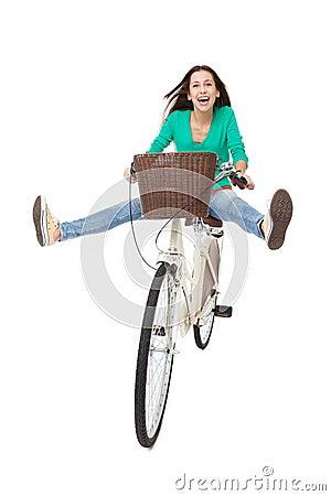 El biking de la mujer