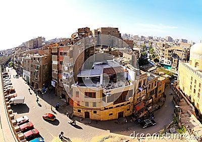 El Cairo verdadero Imagen editorial