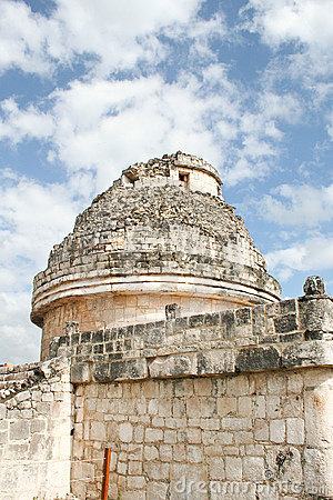 El Caracol, observatory temple in Chichen Itza