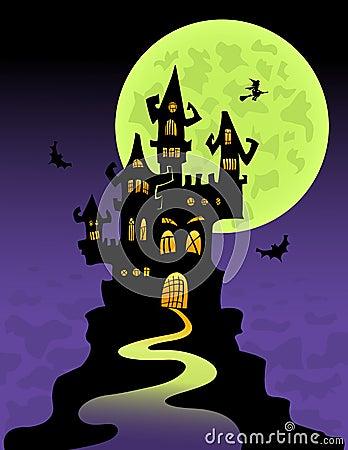 El castillo asustadizo