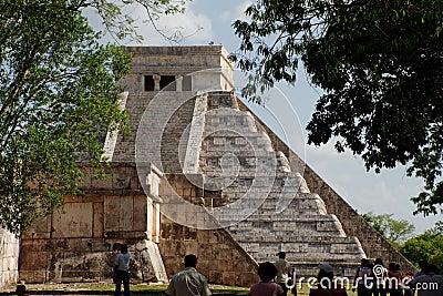 El Castillo Chichen Itza Mexico