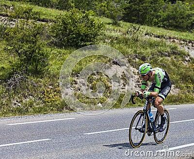 El ciclista Lars Boom Imagen de archivo editorial