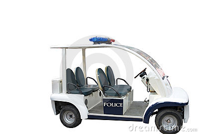 El coche policía