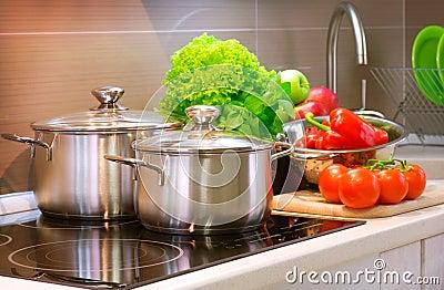 El cocinar de la cocina