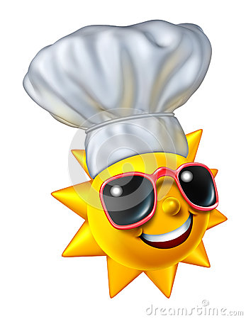 El cocinar del verano