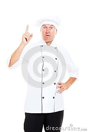 El cocinero mayor tiene una idea
