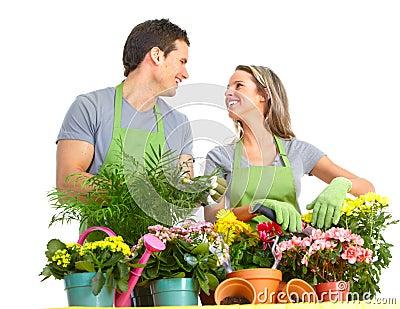 El cultivar un huerto