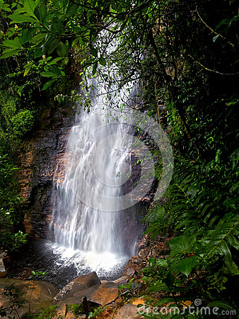 The El Danto waterfall