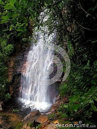 The El Danto waterfall