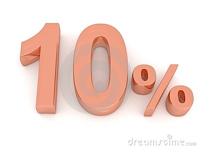 El diez por ciento