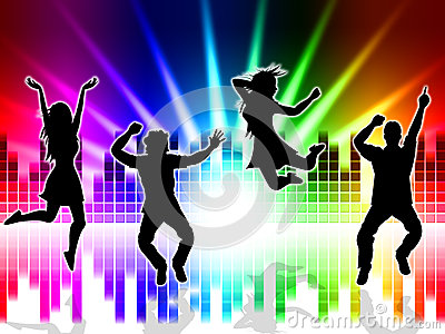 Follando en la pista de baile - cerdascom