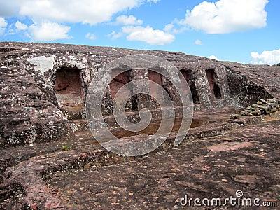 El Fuerte Archaeology ruins,Bolivia