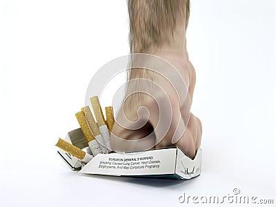 Ha dejado a fumar la debilidad y la somnolencia