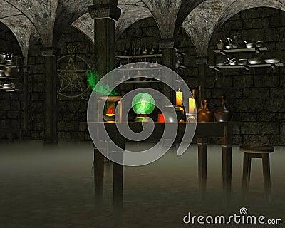 El laboratorio del alquimista